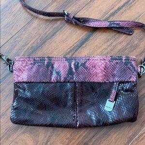 Over the shoulder bag with detachable strap